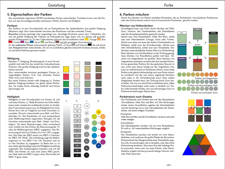 Arbeitsblätter Farben Mischen : Grundlagen des malerhandwerks malerkompetenz aus einer hand